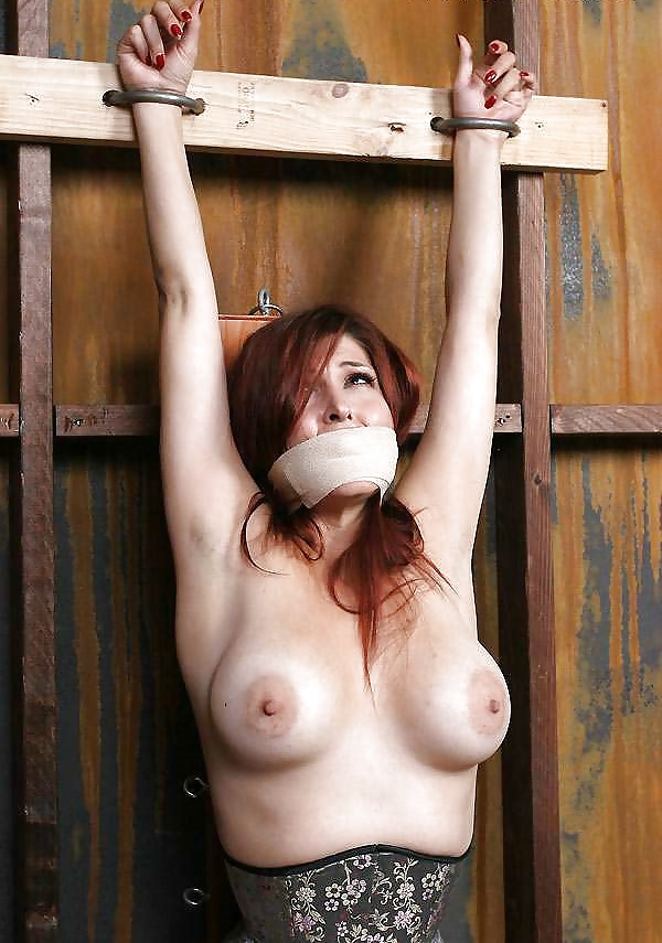 Girl Tied Up Naked In Bed