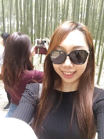 chinese girl posing