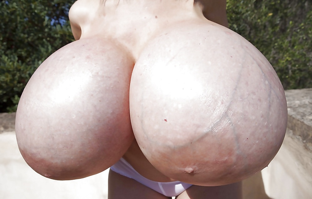Huge Round Fake Boob Babes The Boobs Blog