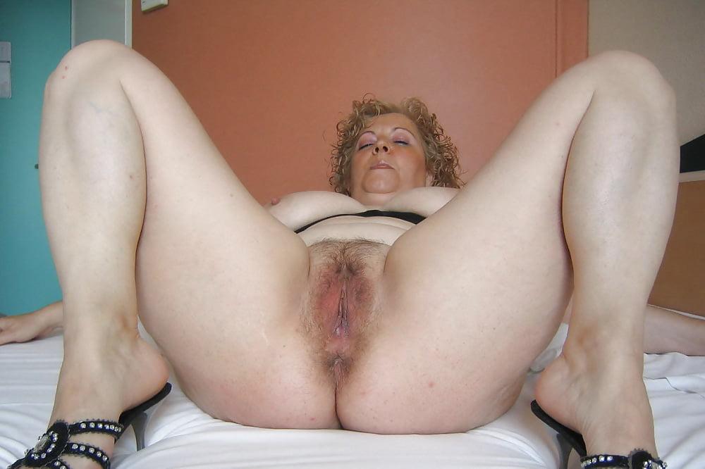 Hairy Granny Ass