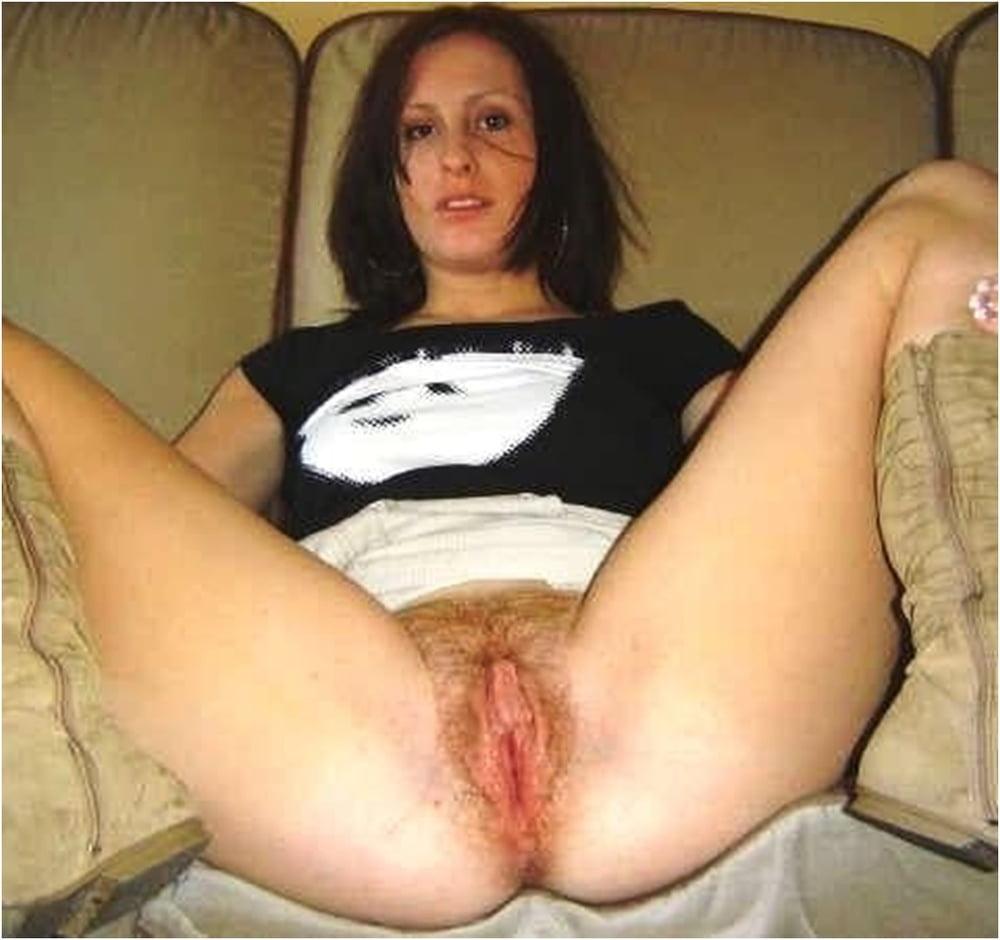 Beautiful hairy mature pussy