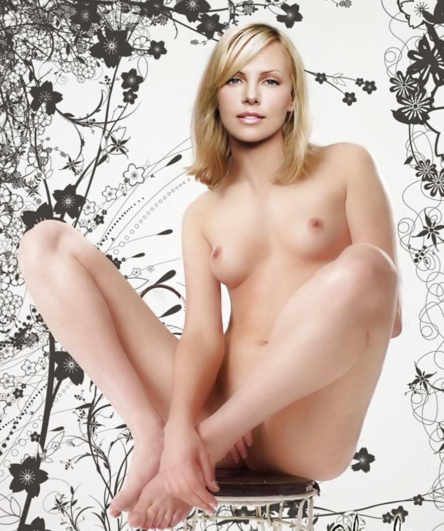Charlize Theron Sexy Nude Photoshoot Original Photos