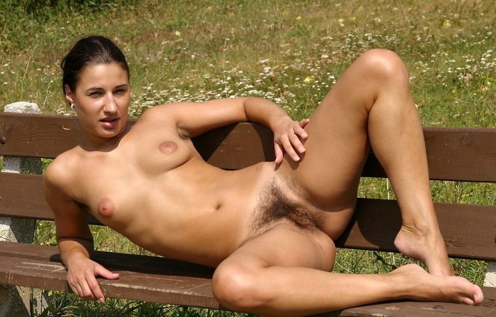 Nudist Beach Hairy Brunettes