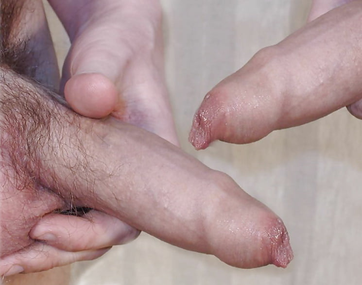 Closeup Masturbation With My Tight Foreskin