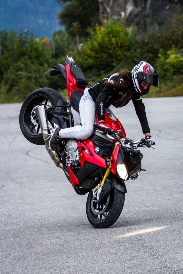 Nude motorbike girls