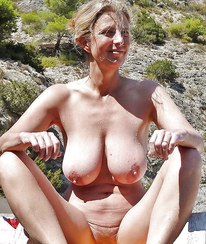 Old Lady Naked Breasts
