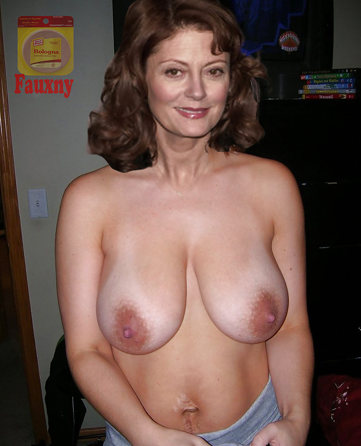 Susan Sarandon Shows Milf Nude Boobs