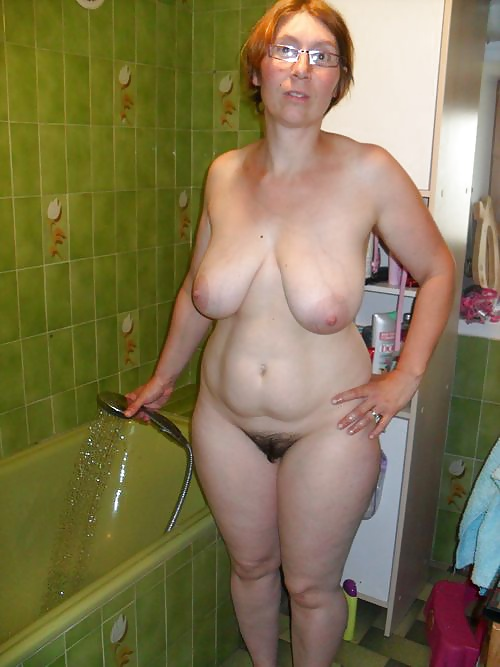 Ugly mature dressed undressed