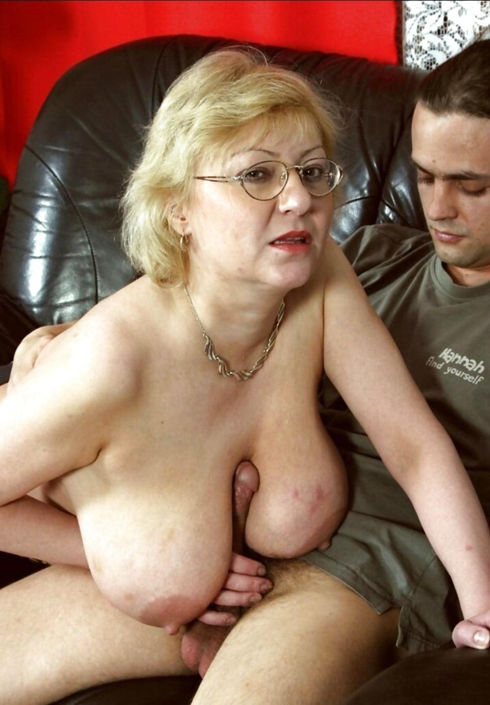 Granny large tit sex