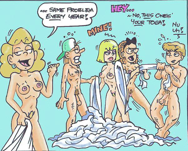 Luann comics naked