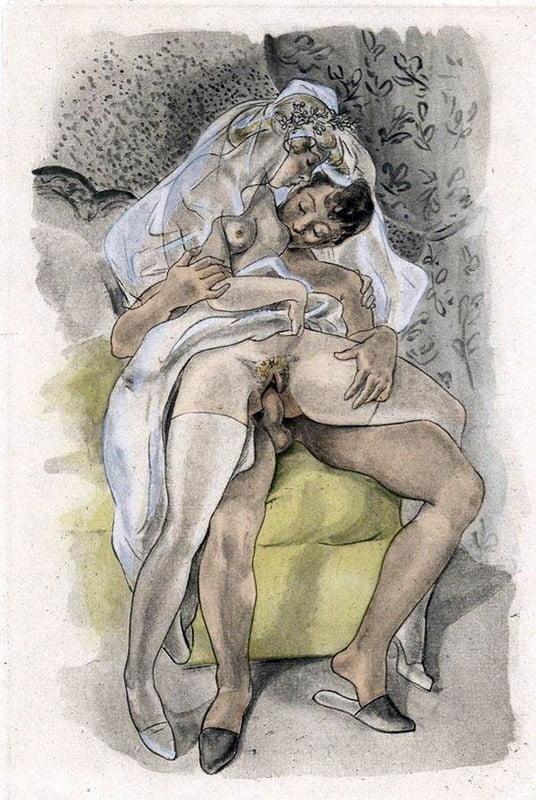 Vintage Erotic Drawings