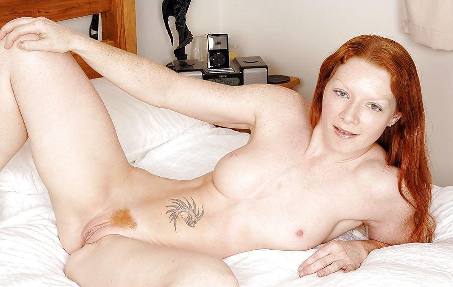 Blonde freckles mature breast