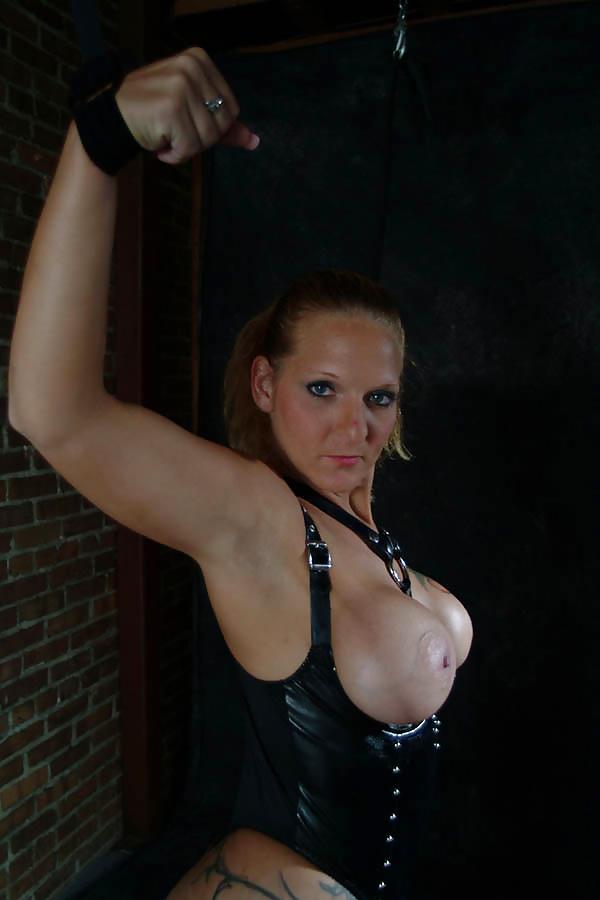 Models tied bondage