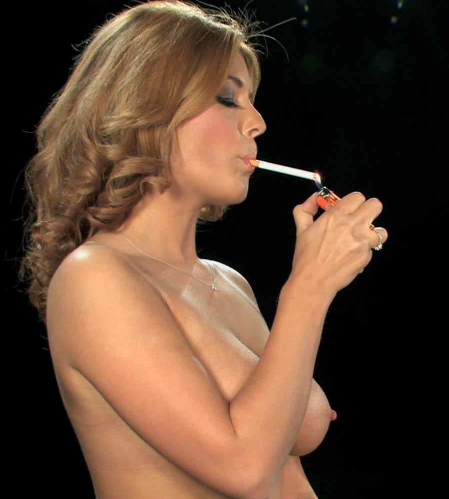 With naked amateurs smoking shall