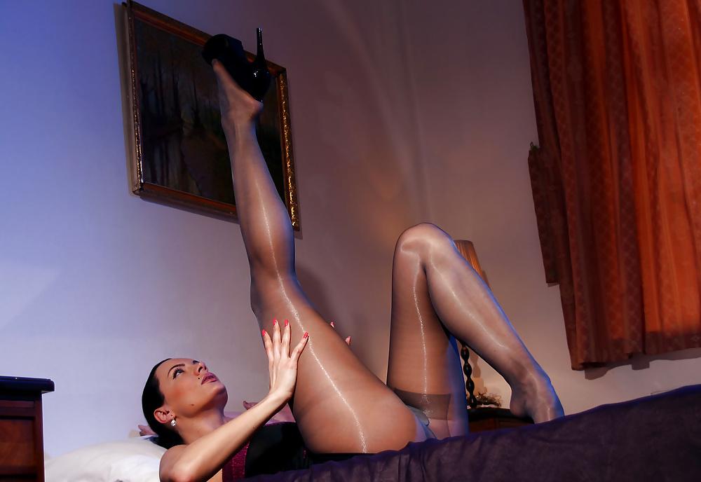 Pantyhose sex legs