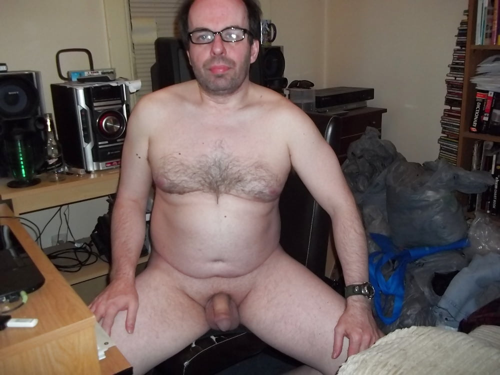 Nerdy Boy Showing His Small Erection