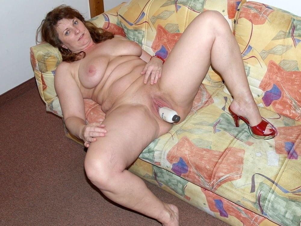 Girl using huge dildo