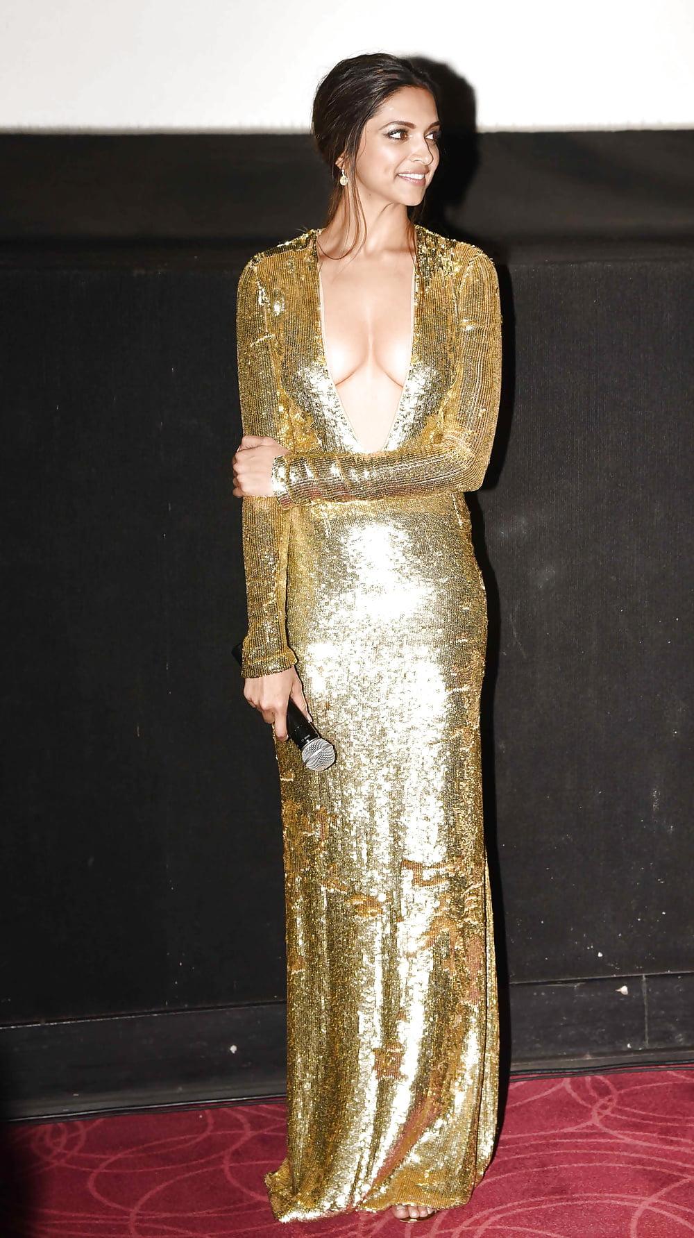 В золотом платье дрочит — 13