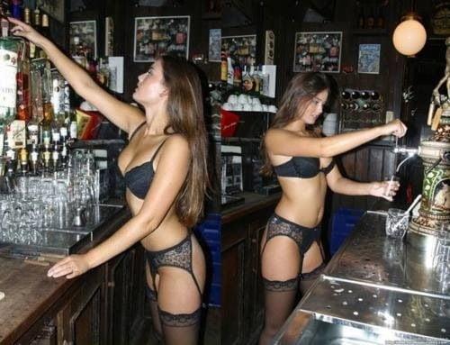 Slutty barmaid