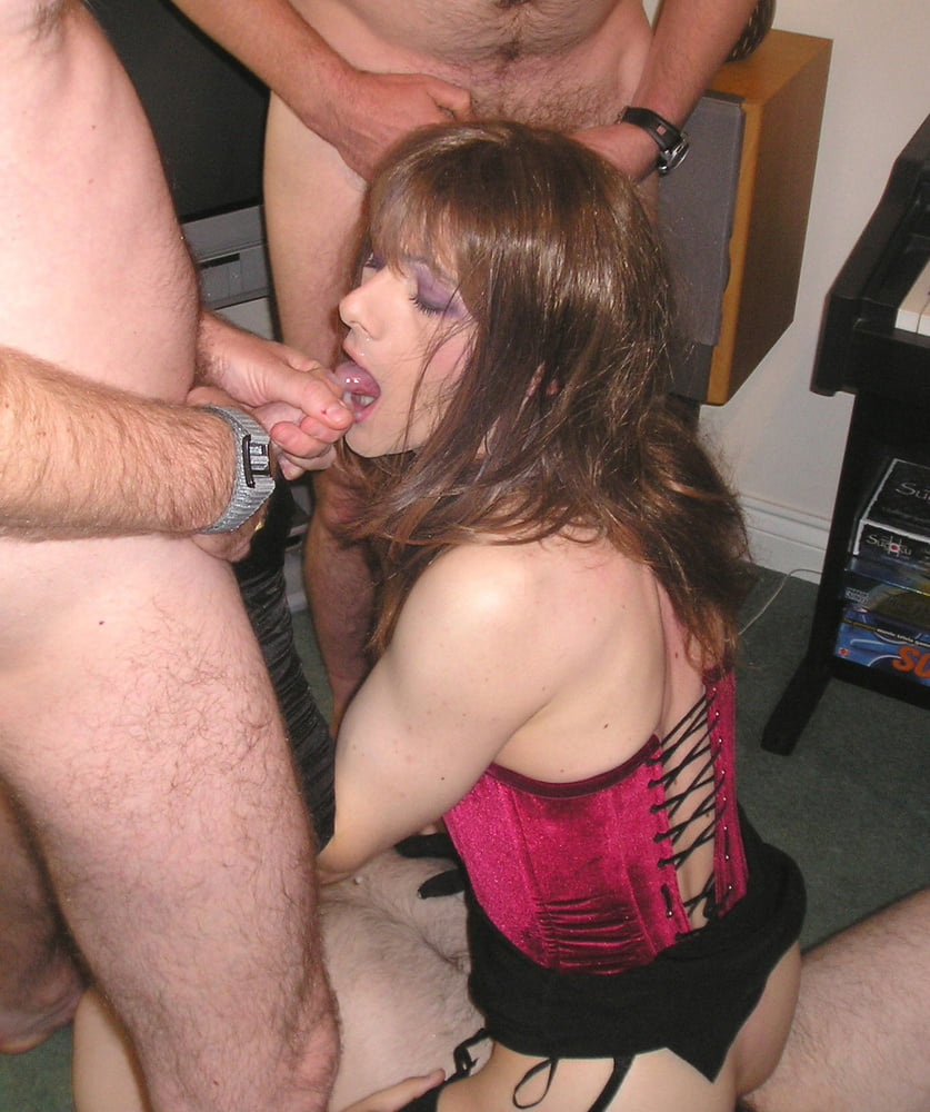 Crossdresser gangbang porn free