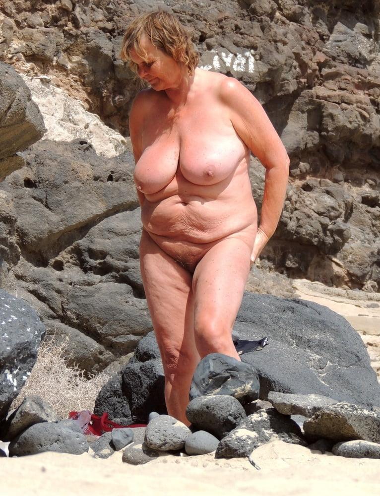 Classic nudist granny, bikini land xxx