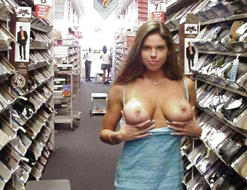 Sexy women naked in walmart