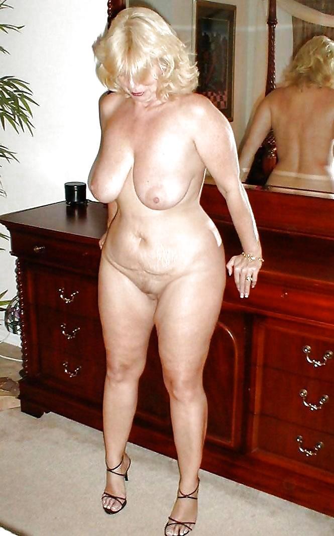 Busty Grandma Has A Sexy Curvy Body By Marierocks