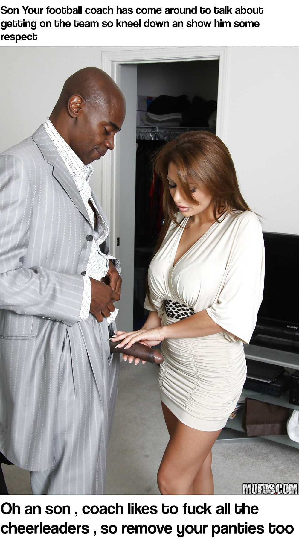 See and Save As femdom captiones interracial chastity