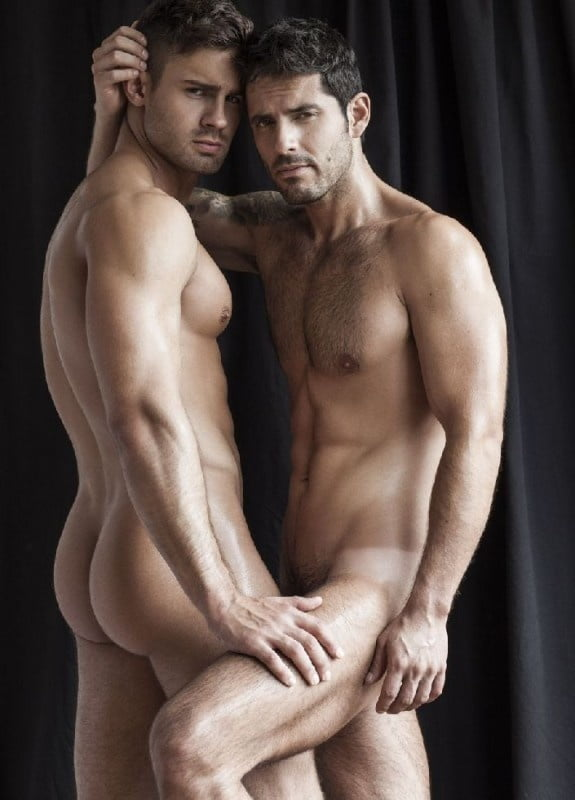 Big cock nude male models with erections