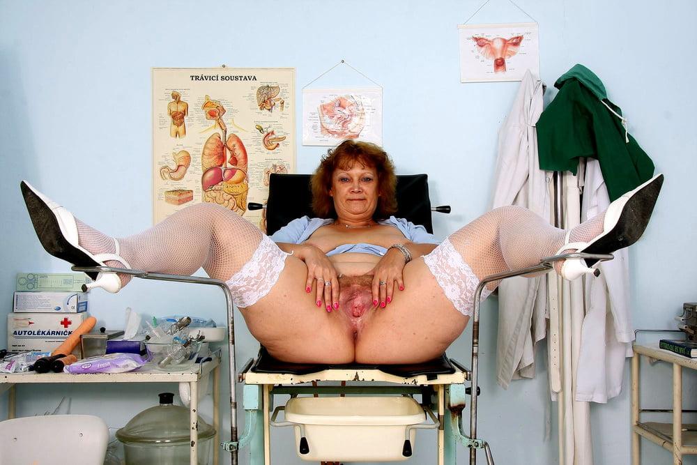 зрелая толстушка у гинеколога радость поллюции может
