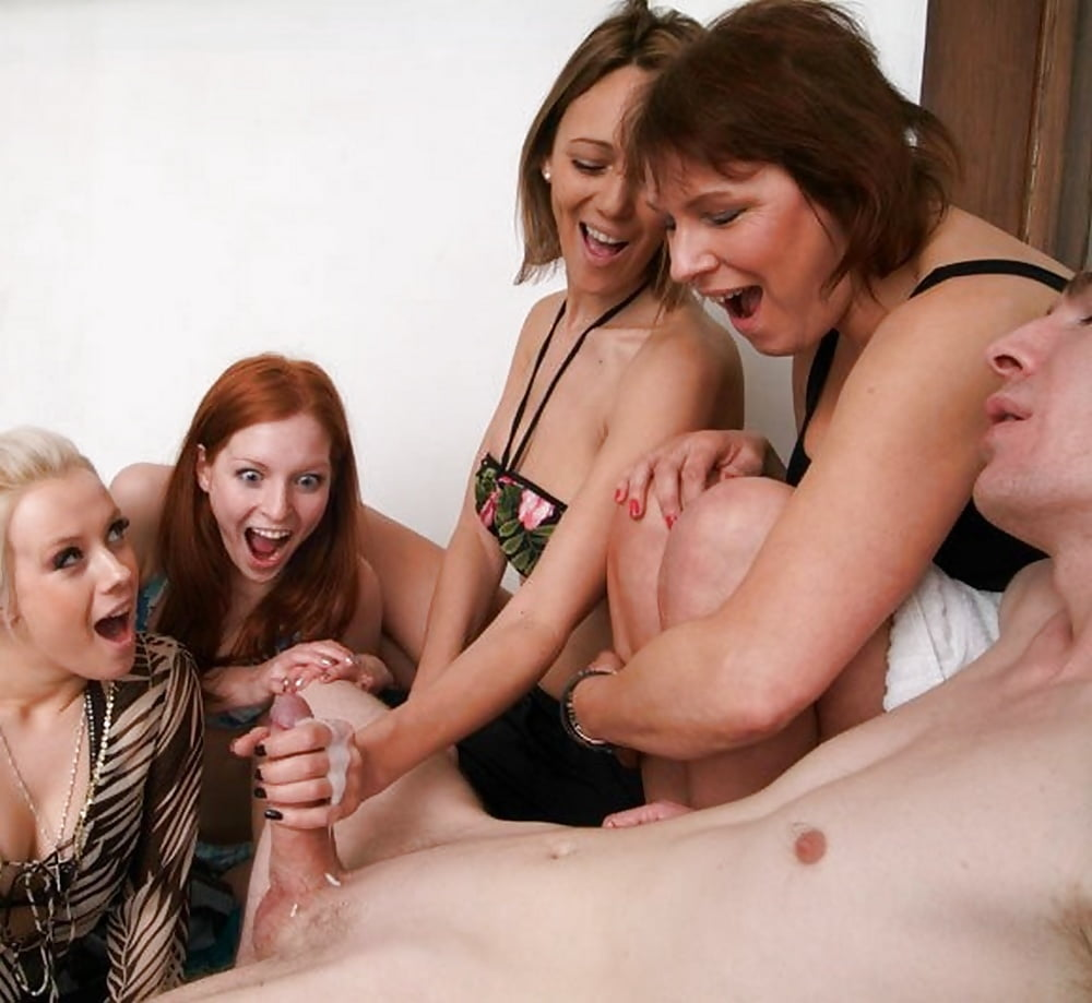 Best group handjob vid