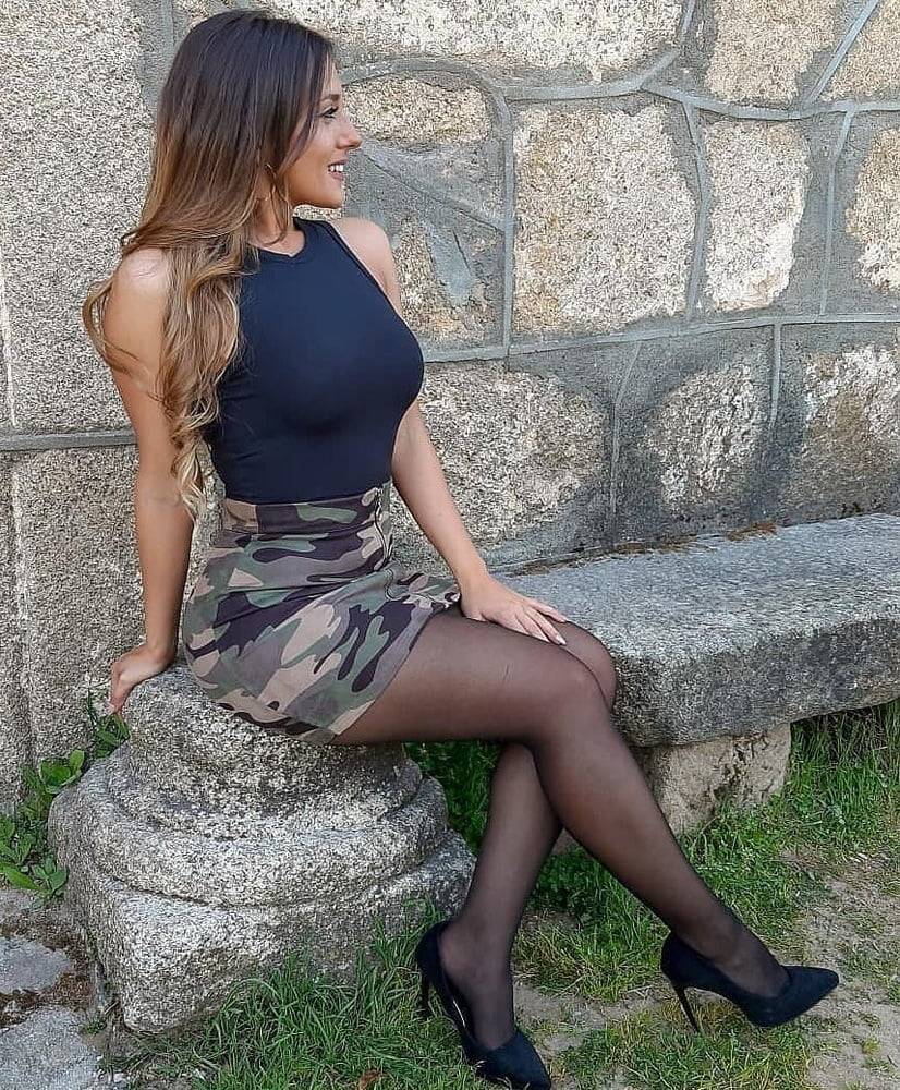 Milf with perfect legs