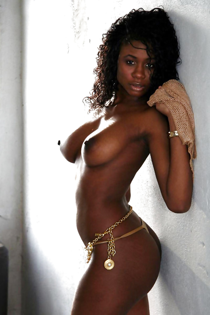 Beautiful dark girl naked