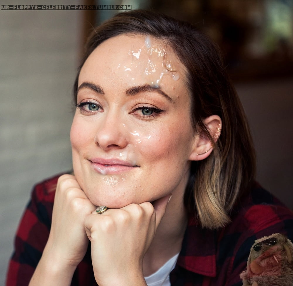 Olivia wilde cum on face — photo 9