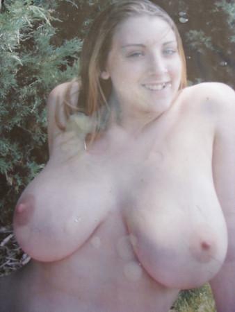 Cum Tribute to big tits amateur request