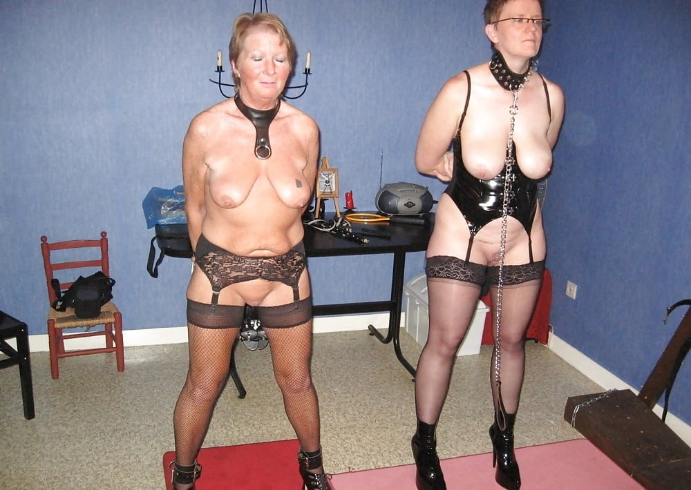 Old lady bondage — img 15