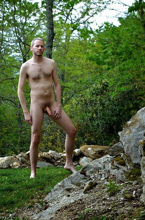 Outdoor male nude