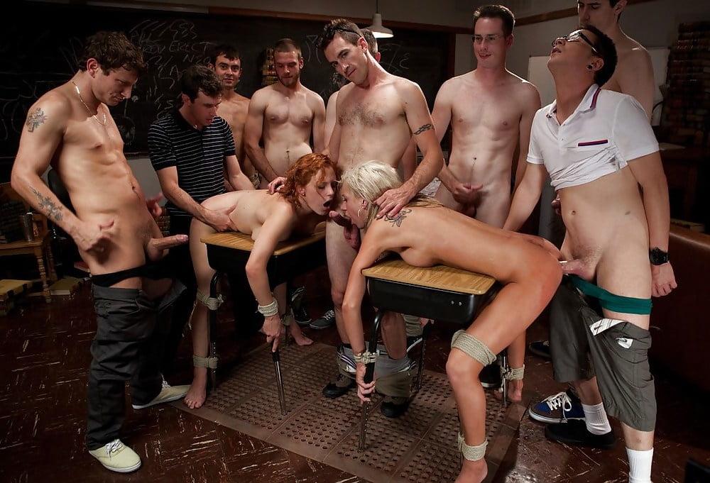 Сняли проститутку толпой и глумятся — pic 5