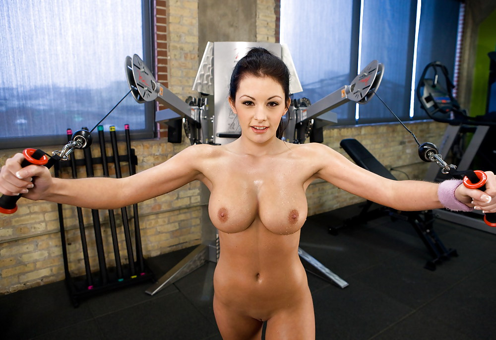 Nude girls gym body — 9
