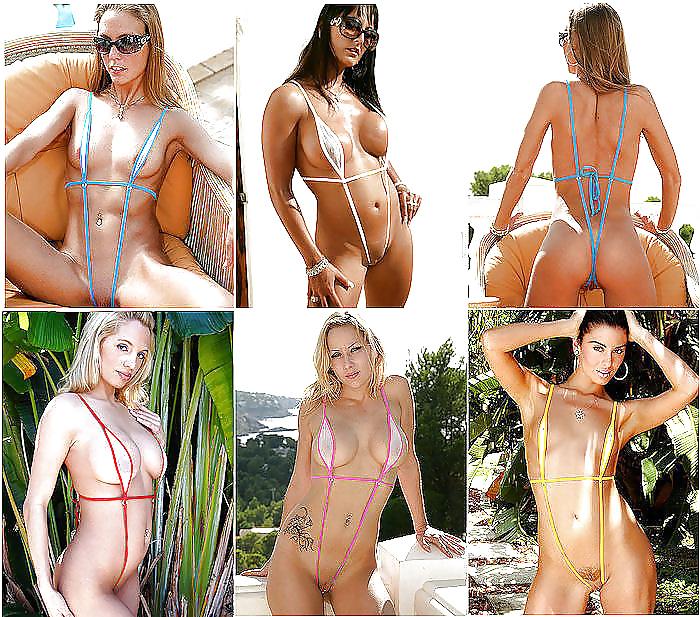 Порно видео моделей в экстрим бикини