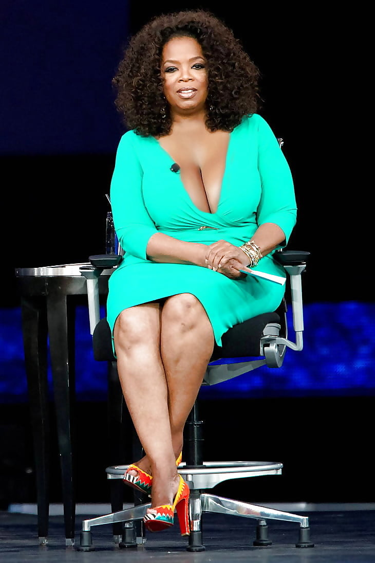 A sexy plus size styling tip, courtesy of oprah winfrey