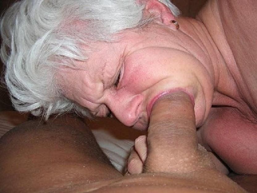 Drunk grandma try to suck cock