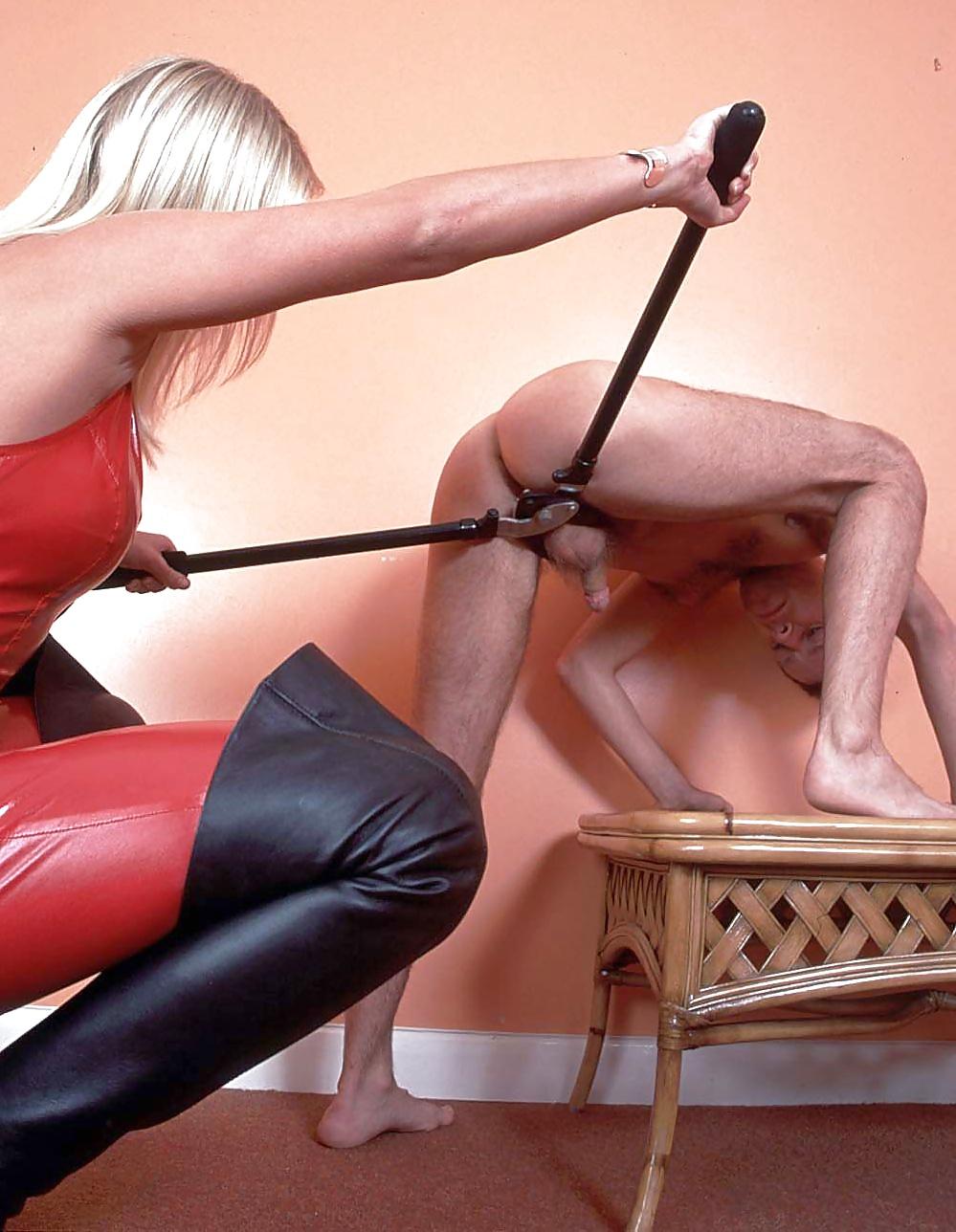 госпожа наказывает раба клизмой - 8