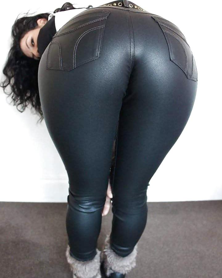 Slave denim big booty jeans fart sniffing