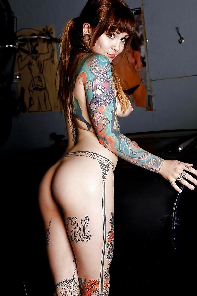 Naked tattoos sg, white girl dreads nude