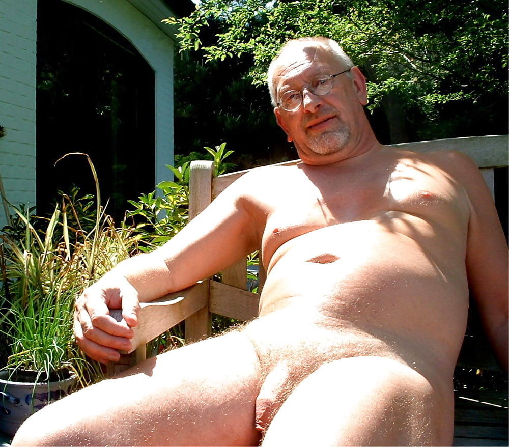 Cute old men nude