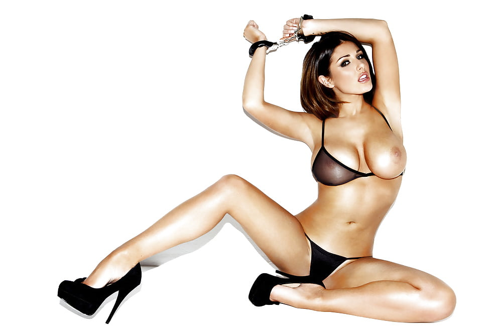 Lucy pinder and michelle marsh behind the scenes photo shoot