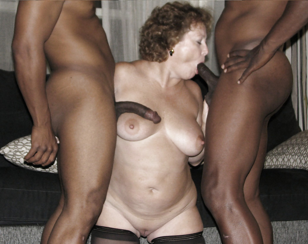 Interracial sex with black older women
