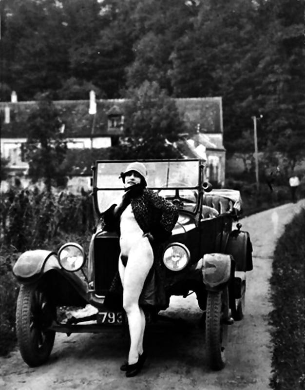 Vintage hairy women