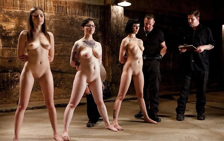 Sex slave auction